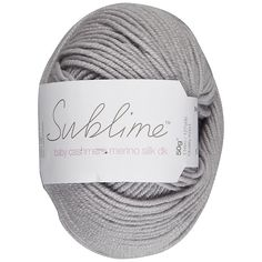 Buy Sirdar Sublime Baby Cashmere Mernino Silk DK Yarn, 50g, Skipper 276 Online at johnlewis.com