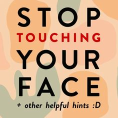 Protect Yo Self! New article 👉🏼How To Stop Touching Your Face To Prevent Infection⁣⁣⁣⁣ ⁣⁣⁣⁣ Did you know you may be to. 1st Response, High Touch, Hand Hygiene, Bettering Myself, Touching You, Did You Know, Helpful Hints, The Cure, Face