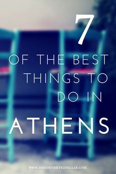 7 of the best things to do in Athens - Greece - via @insidetravellab Greece Travel, Greece Trip, Greece Honeymoon, Greece Vacation, Athens Greece, Santorini Greece, Greece Tourism, Greece Food, Visit Greece