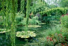 Monet's Garden in Gverny Paris. This is where he painted his famous water lillies.  You can take the train here from Paris