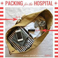 Packing for the Hospital with Mrs. Lilien