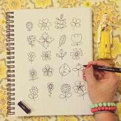 """""""When I don't know what to draw - I draw flowers too @backsorensen And there's a lot of flower doodles in my pen as well ✏️ Today has been a busy day tidying up in our kitchen and tonight we're going out dining  Sødeste @krealiving spurgte i går #widn - der havde vi trodset stormen og spiste middag hos min svigermor  I dag ska vi i byen igen og spise gambiansk mad - efter en hel dag med hovedrengøring af vores køkken. Men en lille blomsterdoodle måtte jeg lige ha' ud ✏️ Hvad mon…"""