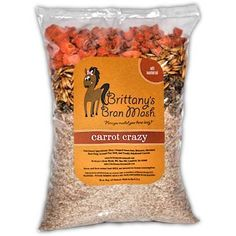 Brittany's Bran Mash for Horses - Carrot Crazy . $10.95
