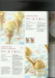 Happy Foods, I Want To Eat, What To Cook, Ice Cream Recipes, Breakfast, Desserts, Icecream, What's Cooking, Illustrated Recipe