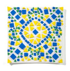 Explore the ancient artwork of Moroccan culture! Design a mosaic, called a zillij, full of brightly colored, recycled Model Magic tiles!