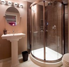 Bathroom Corner Shower corner shower stall units shower enclosures verona circular shower