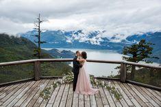 Sea to sky gondola wedding.