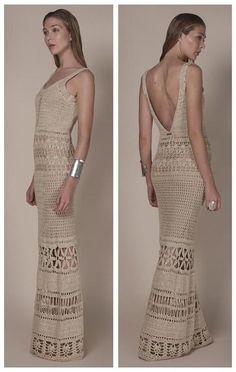 Fabulous Crochet a Little Black Crochet Dress Ideas. Georgeous Crochet a Little Black Crochet Dress Ideas. Black Crochet Dress, Crochet Skirts, Crochet Clothes, Knit Dress, Crochet Bolero, Crochet Blouse, Knit Crochet, Crochet Wedding Dresses, Crochet Woman