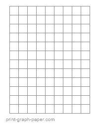 letter 14 quarter inch graph paper portrait