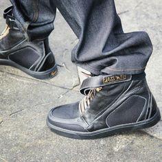 Negash Hotep 3.0 Black Boots-Pre Order – Negash Apparel & Footwear