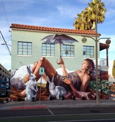 New works for the Life is Beautiful Festival in Las Vegas and Pangea Seed in San Diego.  by Fintan Magee