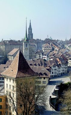 Bern, Switzerland - Been there once but would love to go back someday!!