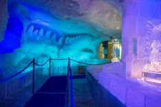 Saas Fee, Aquarium, Light Installation, Playground, Gazebo, Alps, Goldfish Bowl, Fish Tank, Aquarius