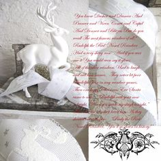 Oh dear ! Christmas Collage, White Christmas, Dear White, Red Nosed Reindeer, Cupid, Blog, Country Living, Bees