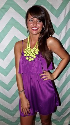 Any Occasion in Neon Purple