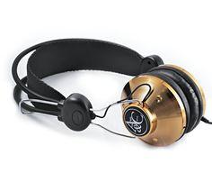 Gold MK11 headphones