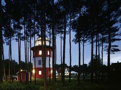Leuchtturm in Glowe auf der Insel Rügen