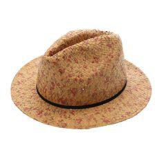 Floral Pattern Straw Hat