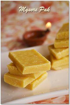 Mysore Pak Recipe | Deepavali Sweets