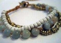 CREATIVITY CONFIDENCE Amazonite Bracelet 6mm beads by jodybrimhall, $42.00