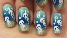 Image result for Underwater Nail Art
