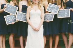 such a cute idea for bridesmaids'