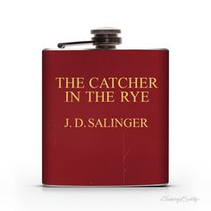 Vintage Catcher in the Rye inspired   6oz or 8oz by DrinkingBuddy