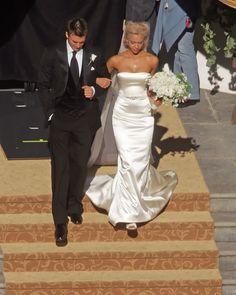 #Jessica #Alba #Wedding Dress