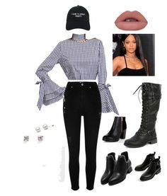 """Ti photo shoot"" by lonestar96 on Polyvore featuring Nasaseasons, River Island, New Look, Balmain and Julien David"