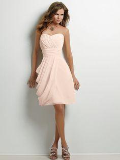 Jordan Bridesmaid Dresses 379 Ice Pink Strapless - beautiful!
