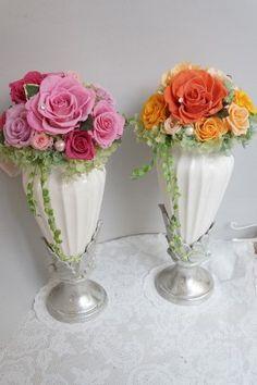 ご両親への贈答花 プリザーブドフラワー|プリザーブドフラワーブーケ・フレームアレンジ・・etcのデザイン日記…