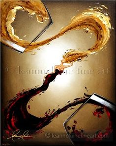Women in Wine (TM) » The Body of Sauvignon. Pure elegance with a hint of sweet fruit and a spicy disposition. LEANNE LAINE - THE WOMEN IN WINE ARTIST.