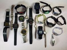 Armitron Estate Lot Of 19 Mens & Womens Wristwatches Quartz 1.11lbs  #A-85-17  #Armitron