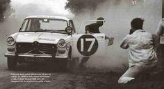 Peugeot 404 Winner East African Safari Rally 1968