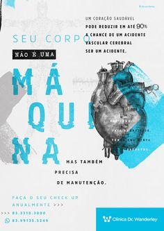 Campanha AVC | Clinica Dr. Wanderley - Criola Propaganda