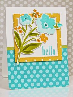 Pretty Periwinkles: Papertrey March 2015 Blog Hop Challenge