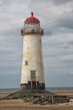 Point of Ayr (Talacre) Lighthouse, Talacre, Flintshire, Wales Lighthouse Pictures, Lighthouse Art, Lighthouse Keeper, Color Photography, Nature Photography, Marblehead Lighthouse, Nautical Lighting, House Of Beauty, Sea Waves