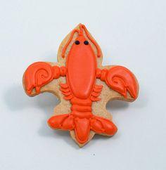 Decorated Cookies  Mardi Gras  Fleur de lis  by katieduran on Etsy, $20.00