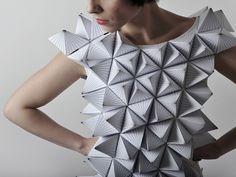 Amila Hrustic geometric dresses