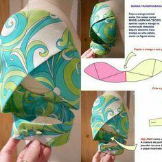 Best 11 Rhonda's Creative Life: Sleeves On Saturdays – Petal sleeve tutorial with twist – SkillOfKing. Sleeves Designs For Dresses, Blouse Neck Designs, Sleeve Designs, Blouse Designs Catalogue, Fancy Blouse Designs, Sewing Art, Dress Sewing Patterns, Sewing Sleeves, Stylish Blouse Design