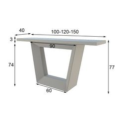 Entry foyers and Consoles Daining Table, Diy Dining Table, Glass Table, Tables, Tv Unit Furniture Design, Console Furniture, Steel Furniture, Tea Table Design, Hall Console Table