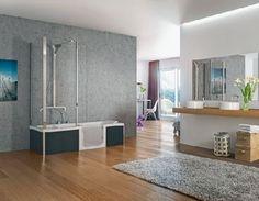 Homeplaza - Praktische Dusch-Badewanne sorgt für barrierearme Flexibilität im Bad - Wer die Wahl hat, hat die ... Freude