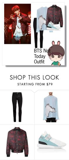 """Jungkook - Not Today outfit"" by oswin-oswald3 ❤ liked on Polyvore featuring Topman, Haider Ackermann, Christian Dior, Y-3, GET LOST, men's fashion and menswear"