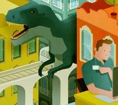 Dinosaur - Gallery 33 - Andrew Lyons