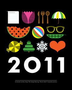 Image of 2011 Calendar - SOLD OUT