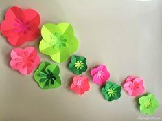 Easy DIY Paper Flowe