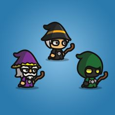 Wizard Tiny Style Character