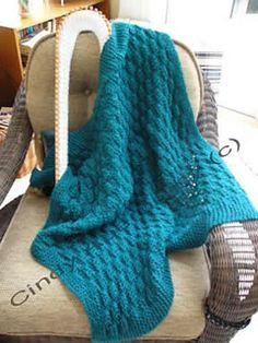 free pattern for waffle stitch baby blanket loom knit