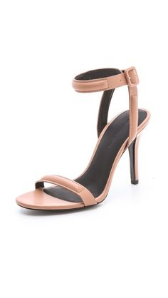 Alexander Wang Antonia High Heel Sandals...have I already pinned these?  Oh, well.