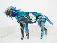 Animal Sculptures Created Using Trash Found at the Beach by Gilles Cenazandotti. French sculptor and environmentalist Gilles Cenazandotti has a collection Animal Sculptures, Lion Sculpture, Sculpture Ideas, Plastic Art, Plastic Beach, Plastic Recycling, Recycled Art Projects, Recycled Materials, Trash Art